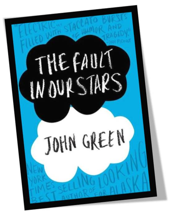 The Fault In Our Stars by John Green Book Cover
