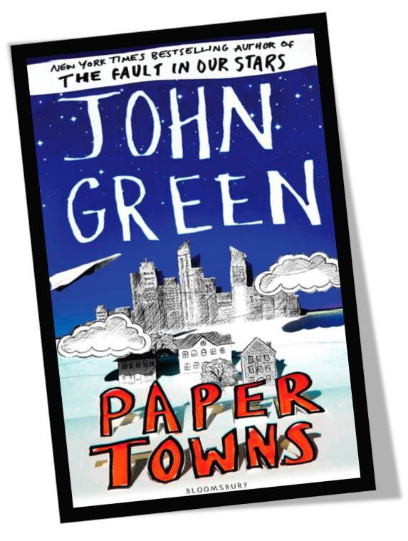 Paper Towns by John Green Book Cover