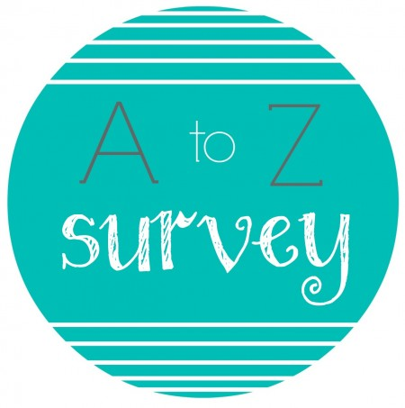 A to Z Book Survey Button
