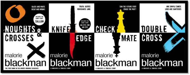 Noughts and Crosses Series Covers