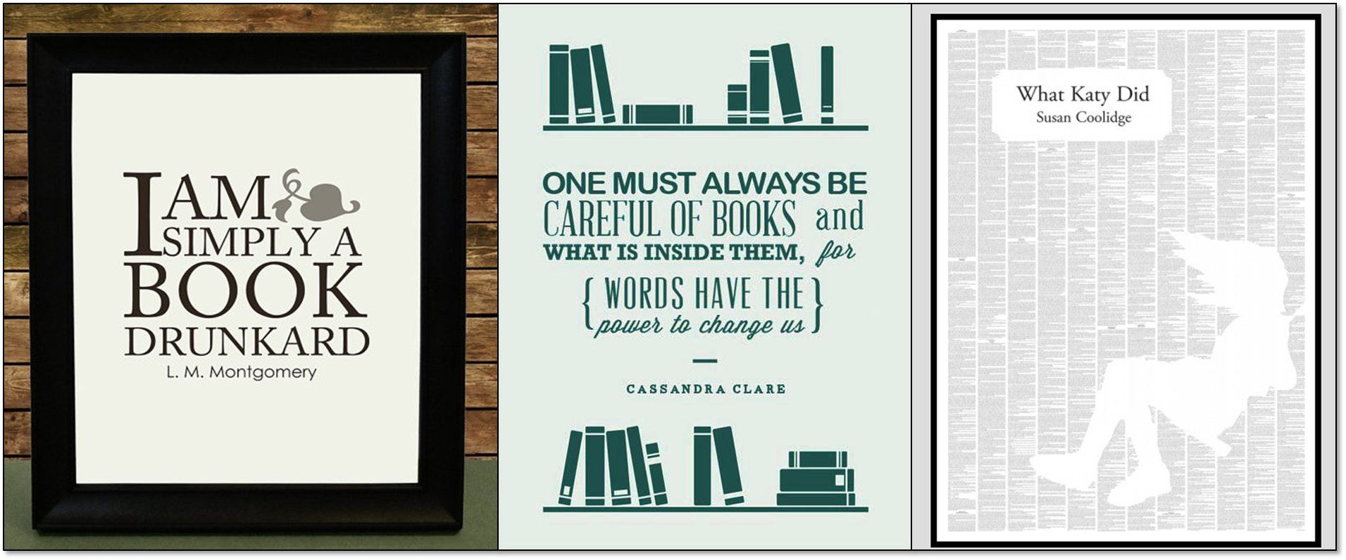 BOOK QUOTES AND PRINTS