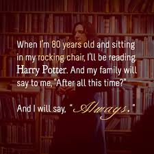 Harry Potter Always Quote