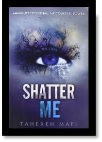 Shatter Me Book Cover Top Ten Tuesday Cover Art