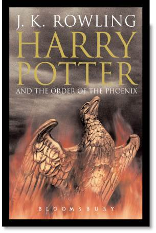 Harry Potter And The Order of the Phoenix Cover Art Top Ten Tuesday