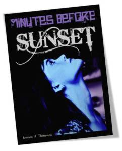 Minutes Before Sunset Cover