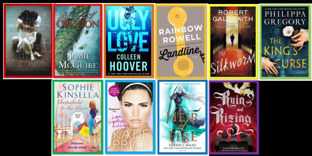Summer Reads Rainbow