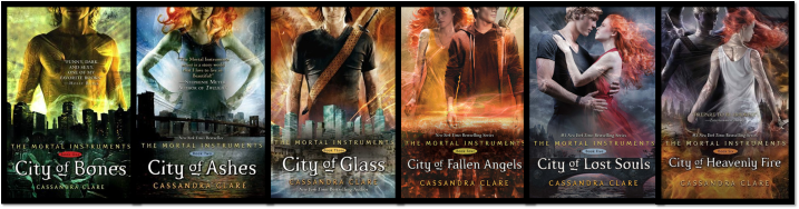 The Mortal Instruments Series Covers