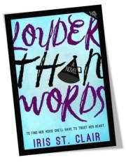 Louder Than Words by Iris St Clair Book Cover