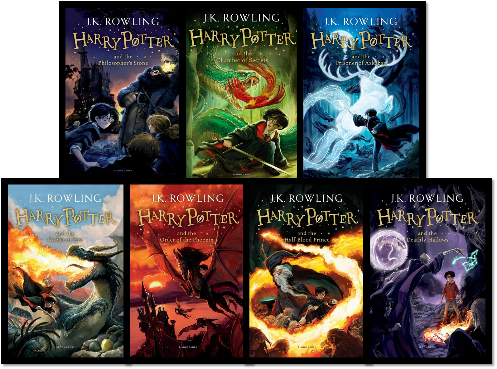 Harry Potter Book Cover Image ~ Bloomsbury new harry potter covers and artist interview