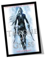 Throne of Glass by Sarah J Maas Book Cover