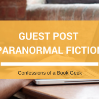 Author Guest Post: Writing Paranormal Fiction