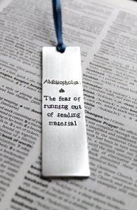 Abibliophobia Bookmark