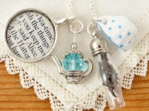 Alice In Wonderland Tea Necklace