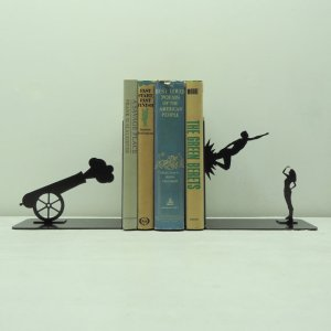 Cannon Book Ends