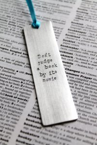 Don't Judge A Book By Its Movie Bookmark