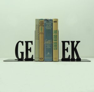 Geek Book Ends