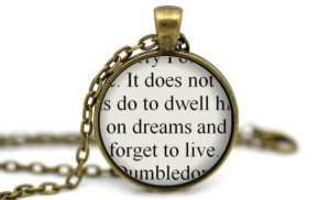 Harry Potter Quote Necklace