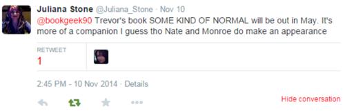 Julianna Stone Tweet