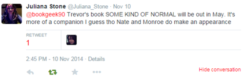 Julianna Stone Tweet