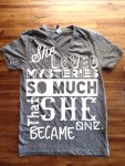 She Loved Mysteries Tee
