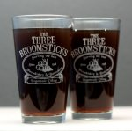 The Three Broomsticks Glasses