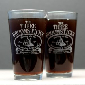 The Three Broomsticks Glasses