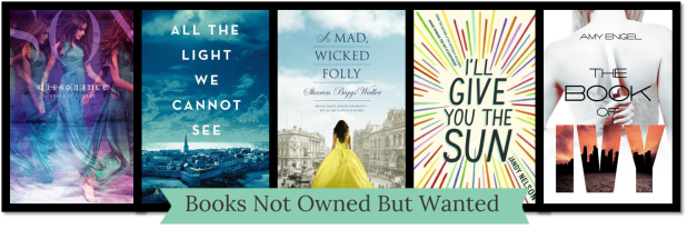 2014 Books Not Owned and Wanted