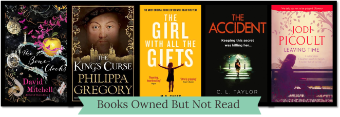 2014 Books Owned Not Read