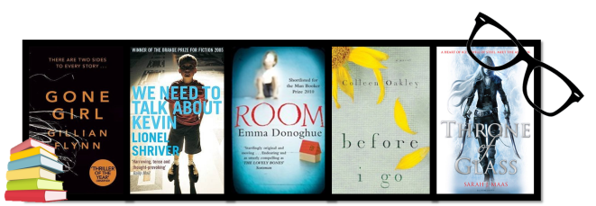 Top Ten Books for Book Club 1