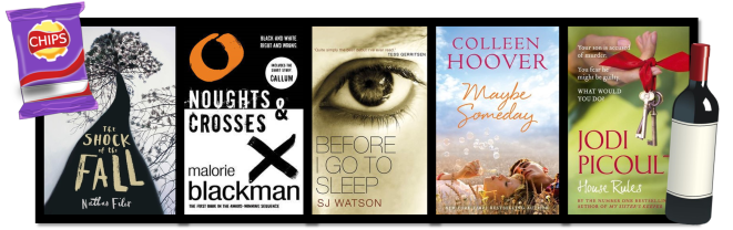 Top Ten Books for Book Club 2