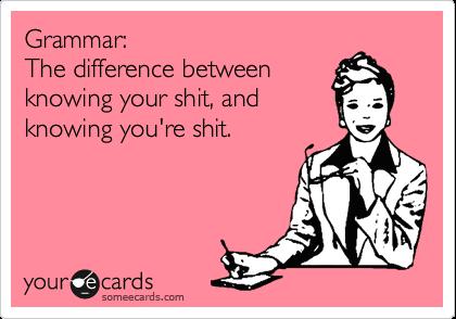book geek problems grammar