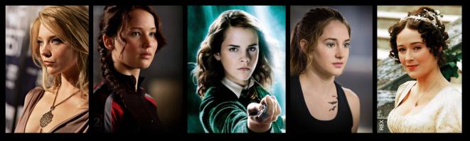 Top Ten Heroines 1