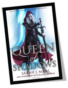 Queen of Shadows Book Cover