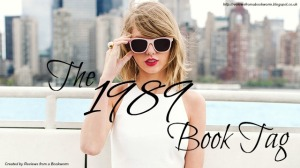 taylor swift book tag 1989