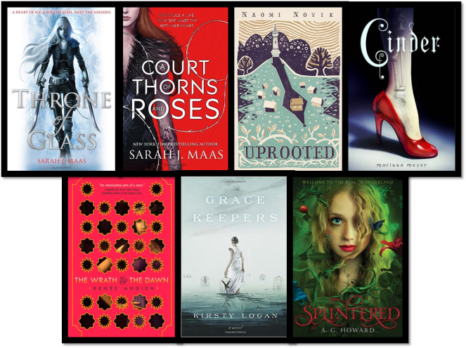 TTT Fairytale Retellings