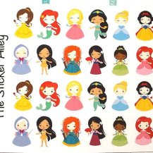 Disney Princess Stickers