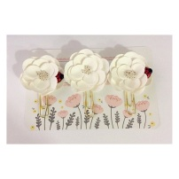 Flower Paperclip Bookmarks