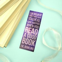 JK Rowling Bookmark