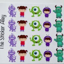 Monsters Inc Stickers