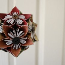 Origami Christmas Decoration 1