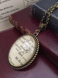 Pride and Prejudice Necklace