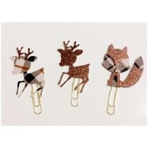 Reindeer Paperclip Bookmark
