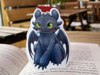 Toothless Bookmark