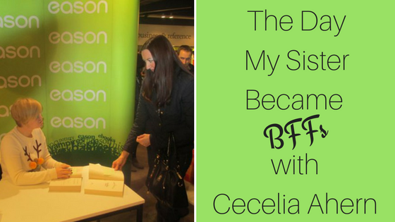 Author Signing Cecelia Ahern