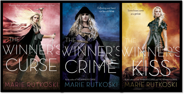 The Winner's Series New Book Covers