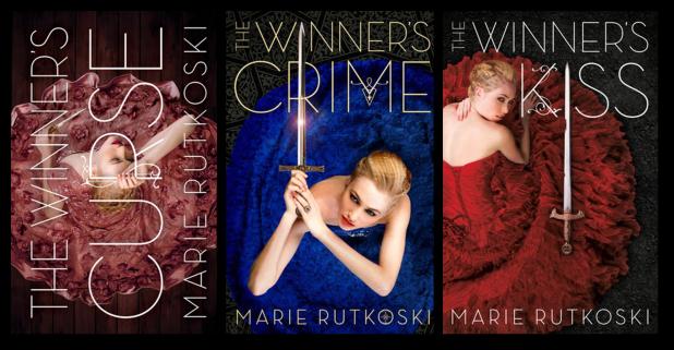 The Winner's Series Original Book Covers