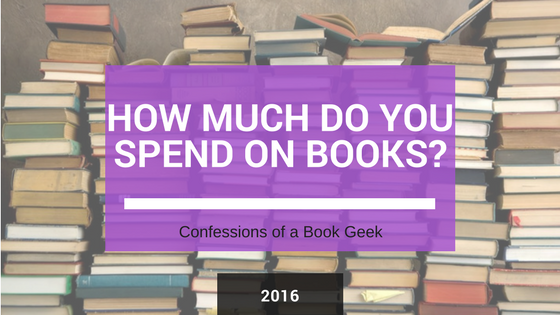 How much do you spend on books 2016