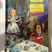 Alice Pop Up Book Vintage Edition
