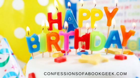 Confessions of a Book Geek turns 2