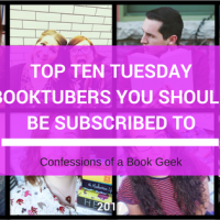 Top Ten Tuesday - BookTubers You Need To Be Following